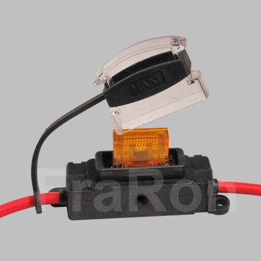 Maxi Fuse holder max. 80A with 50cm cable loop