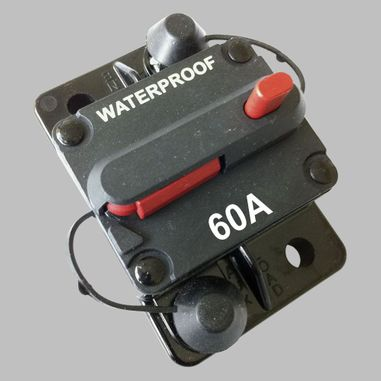 60A circuit breaker with reset / surface mount