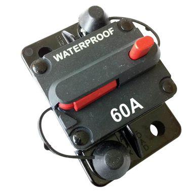 60A Sicherungs-Automat mit Resetschalter / Aufbauversion