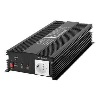 Wechselrichter modifiz. Sinus 1500 Watt 12V mit Ladegerät 10A und automatischer Vorrangschaltung