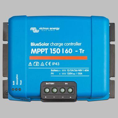 MPPT Solarladeregler 60A für 12V / 24V / 36V / 48V Batterien, max. Eingang 150V DC