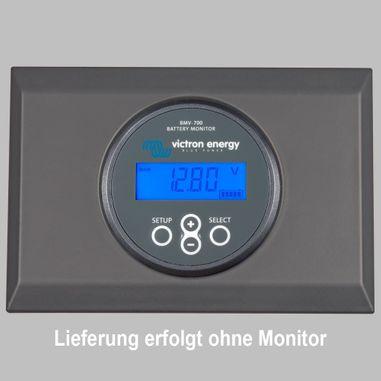 Aufbaugehäuse für Victron Solarmonitor MPPT Control, Kunststoffausführung grau, Aufputzmontage,
