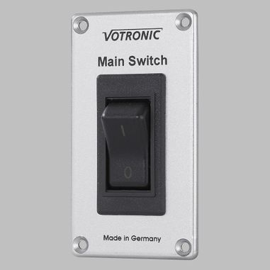 Main-Switch-Panel S 20A, 12V and 24V