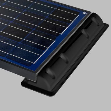 Mounting spoiler (2pcs.) for solar cells, Length 55cm, black