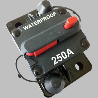 250A circuit breaker with reset / surface mount