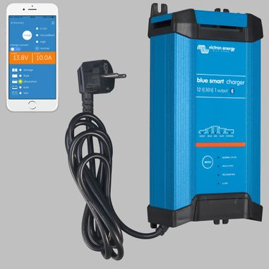 IUoU Batterieladegerät 12V / 30A, 1 Ausgang, Blue Power GX IP22, Smart Bluetooth