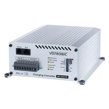 Batterie zu Batterie-Ladegerät 12V nach 12V mit 70A, IUoU, Ladebooster VCC für Blei,- GEL, AGM und Lithiumbatterien