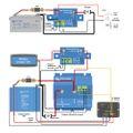 Batterietiefentladeschutz 65A für 12V und 24V Batteriesysteme Smart