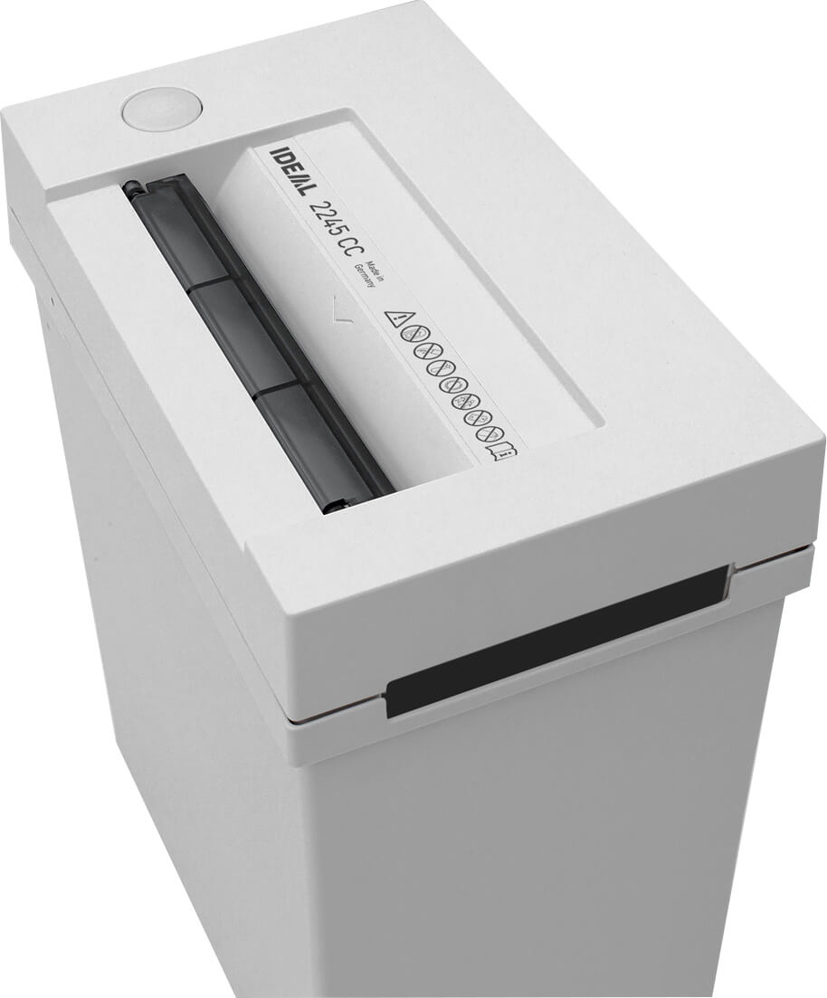 Schreibtisch-Aktenvernichter IDEAL 2245 mit Lichtschranke für automatischen Start/Stopp