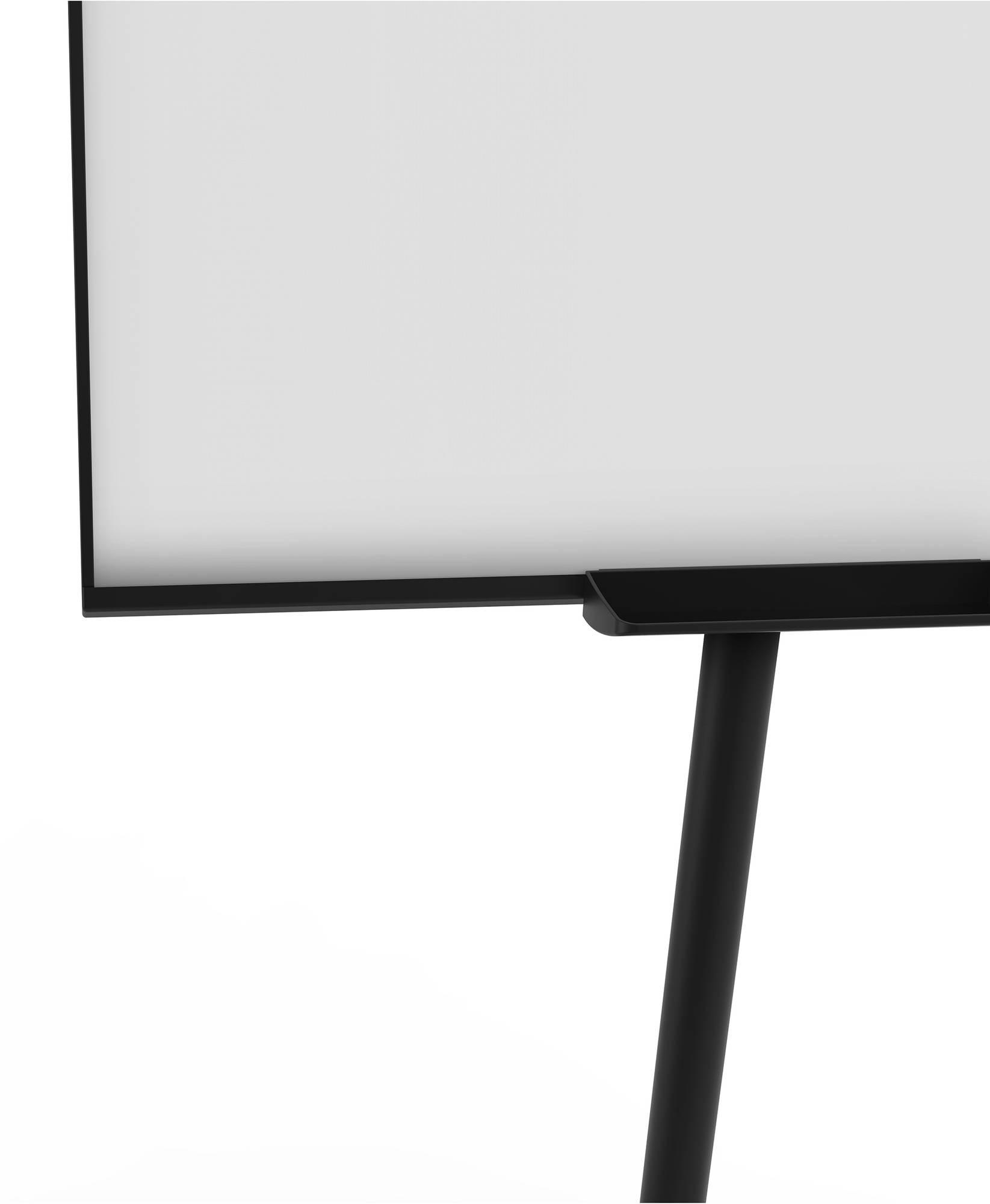 Detailansicht Flip-Chart Mobil ECONOMY Triangle mit praktischer Ablageschale
