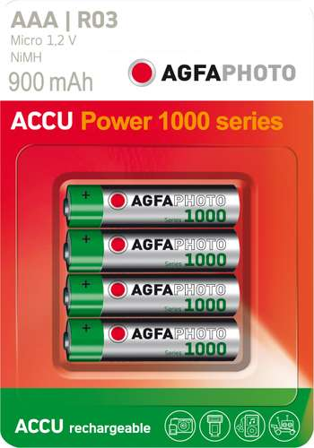 AgfaPhoto Akku NiMH Micro Power Series AAA / HR03 1.2 V