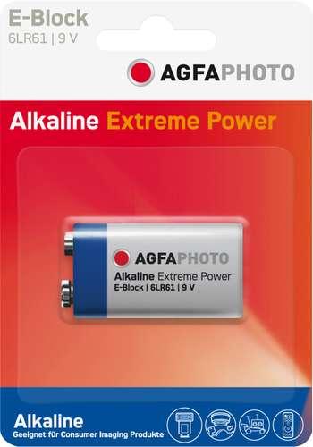 AgfaPhoto Extreme Power E-Block 9V / 6 LiterR61, 9V