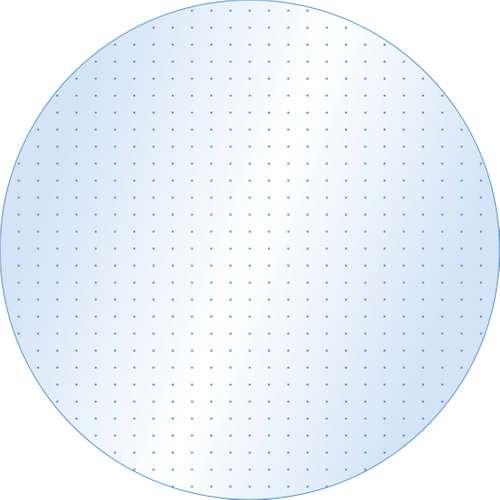 Bodenschutzmatte für Teppich Ecogrip Form D, 0, 90 m