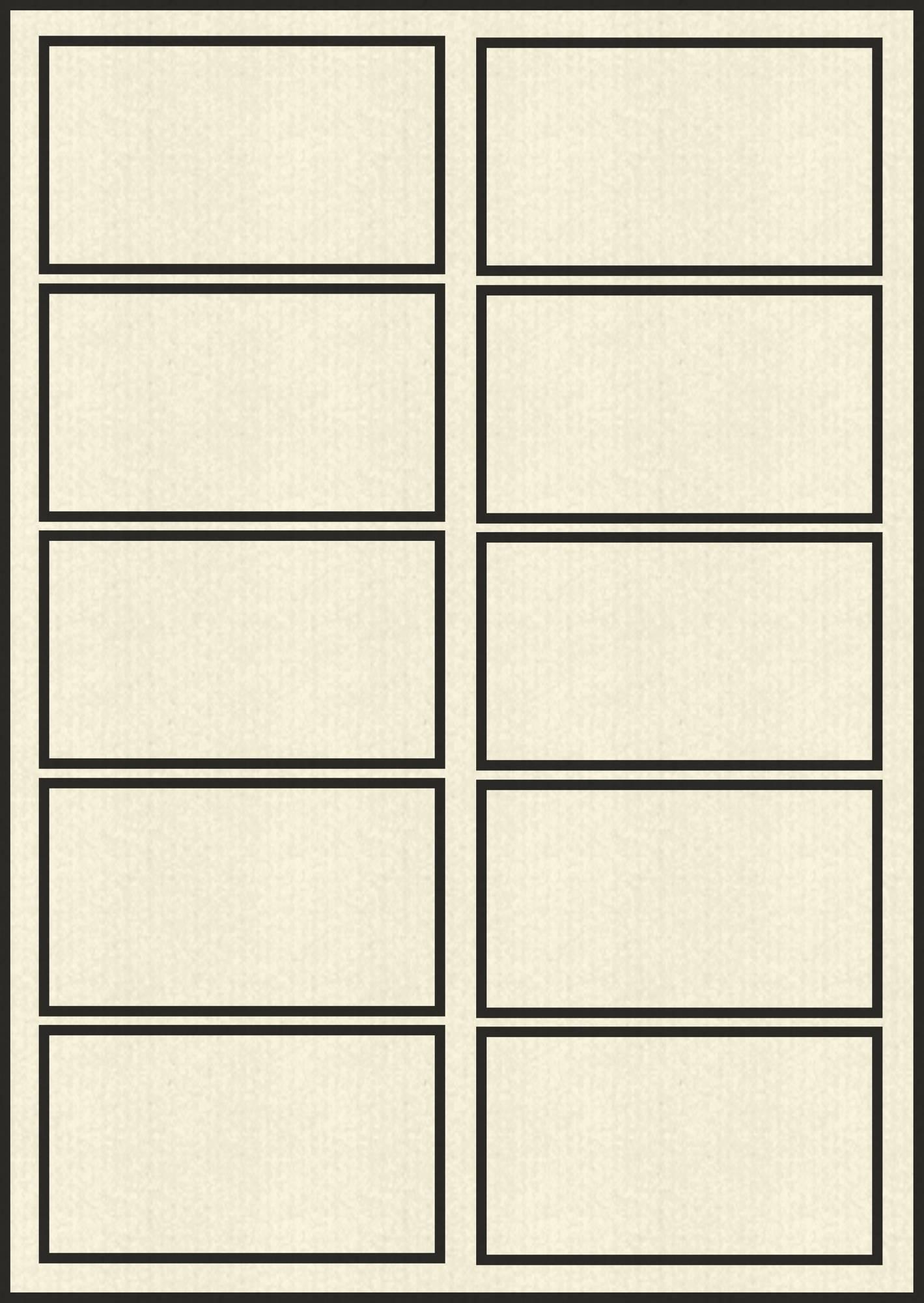 Blanko Visitenkarten 230 G Qm 86 X 54 Mm