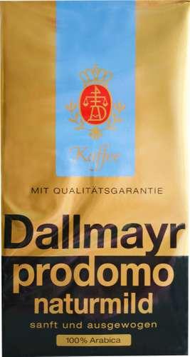 Dallmayr Kaffee naturmild gemahlen, 500 g