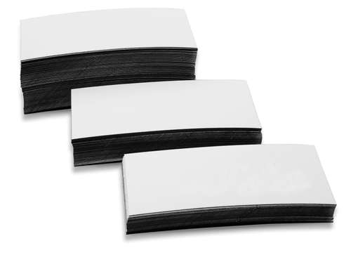 Magnetetiketten 30 x 100 mm