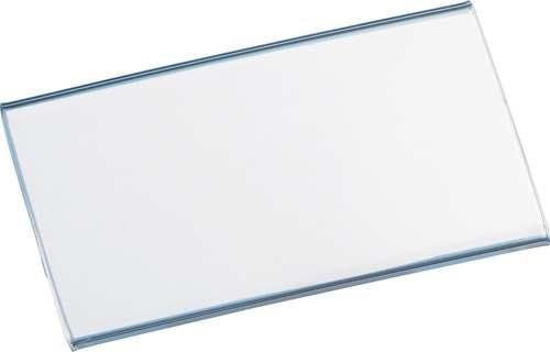 Acryl-Namensschild mit Spezial-Magnet, 75 x 40 mm