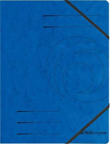 Blauer Aktendeckel A4 mit Eckspanner