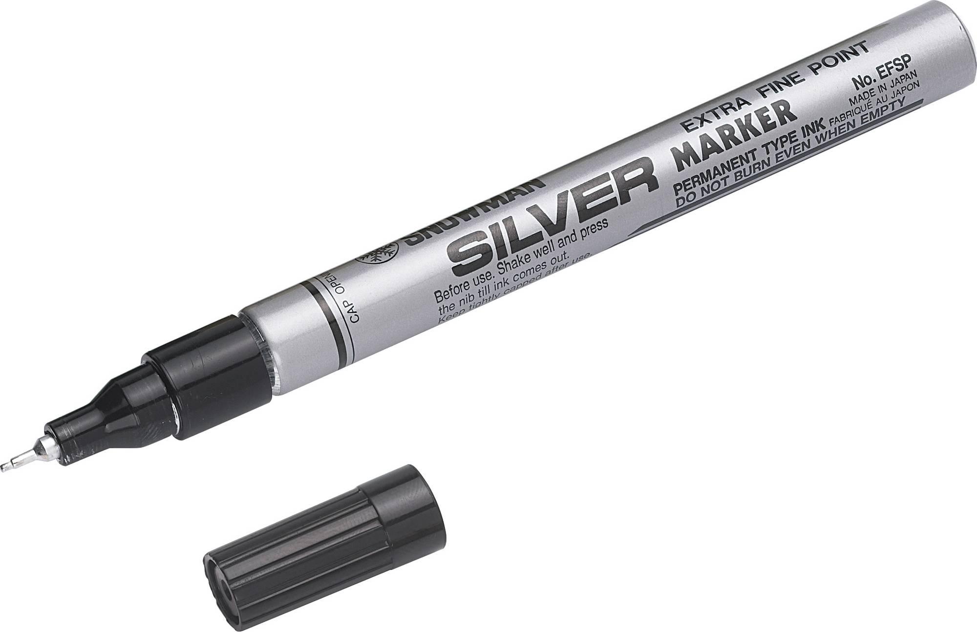 Tintenschreiber in silber