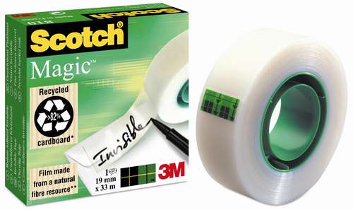 Scotch Magic Klebefilm 19 mm x 33 m