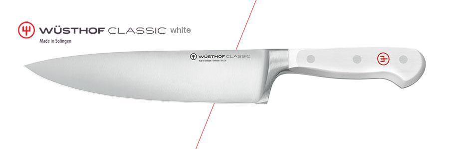 Die berühmte Classic Serie von Wüsthof Dreizack in weiß