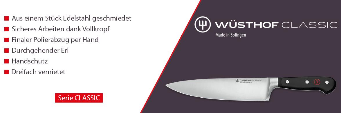 Serie Wüsthof CLASSIC. Die klassischen Küchenmesser
