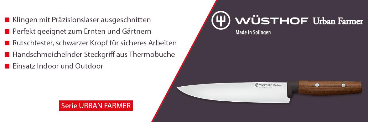 Serie Wüsthof Urban Farmer- Die Indoor und Outdoor Küchenmesser