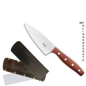 Herder K-Serie Kochmesser klein 13 cm K-4 Pflaume + SCHARFsinnig Klingenschutz – Bild 9