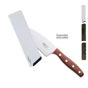 Herder K-Serie Kochmesser K-4 13cm Pflaume CARBON + SCHARFsinnig Klingenschutz – Bild 2