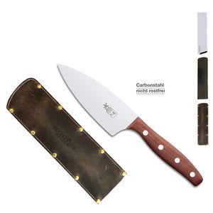 Herder K-Serie Kochmesser K-4 13cm Pflaume CARBON + SCHARFsinnig Klingenschutz – Bild 5