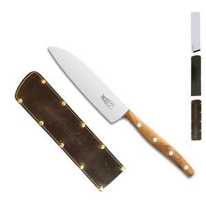 Herder K-Serie Filiermesser 12,5 cm K-3 Marille + SCHARFsinnig Klingenschutz – Bild 5
