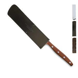 Windmühlenmesser Allzweckmesser 11 cm K-2 Pflaume + SCHARFsinnig Klingenschutz – Bild 4