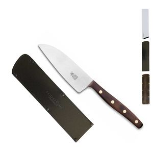 Herder K-Serie Allzweckmesser 11 cm K-2 Walnuss + SCHARFsinnig Klingenschutz – Bild 3