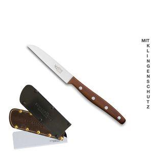 Windmühlenmesser Gemüsemesser 9 cm K-1 Pflaume + SCHARFsinnig Klingenschutz – Bild 9