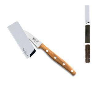 Herder K-Serie Schälmesser 7,1 cm K-0 Marille + SCHARFsinnig Klingenschutz – Bild 2