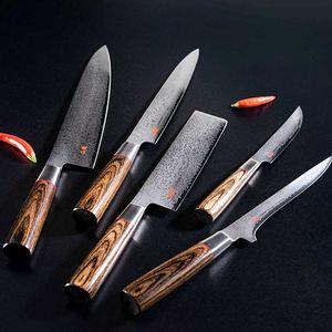 Suncraft Santoku Messer 17 cm Senzo Classic Damast – Bild 2