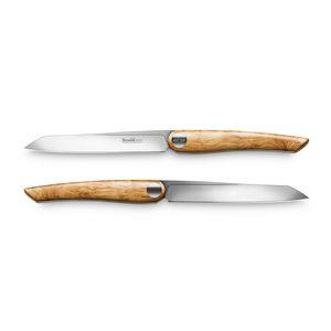 Nesmuk Steakmesser Set 2 Soul Olivenholz – Bild 1