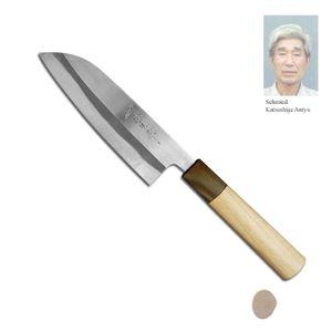 Katsushige Anryu Migaki Santoku Messer 13,5 cm TPB-001