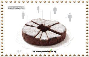 Slawinski Cake Silikon Backform 14s-xl AUSLAUF – Bild 2