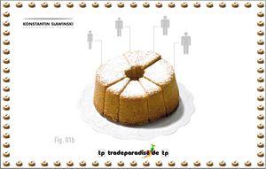 Slawinski Cake Silikon Backform small 15s-xl AUSLAUF – Bild 2