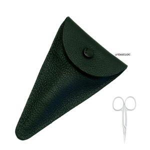 Dovo Lederstulpe für Scheren 8,9 cm schwarz 495010