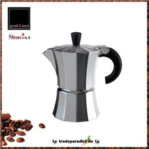 Gnali & Zani Espressokocher 1T Morosina MOR001alu