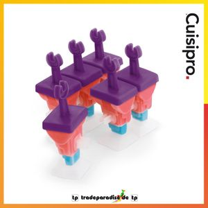 Cuisipro Eiscreme-Formen 6er Set Robotermotiv 837441 – Bild 5