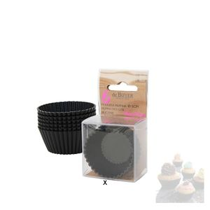 de Buyer Backförmchen Moulflex 6er Set Ø 5cm Muffins