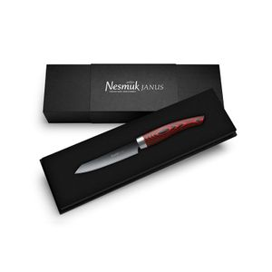 Nesmuk Officemesser 9 cm Janus Micarta red