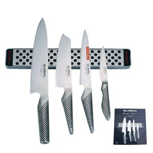 Global Messer G-251138/M30 Set + Magnetleiste 5-teilig