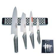 Global Messer G-251138/M30 Set + Magnetleiste 5-teilig 001