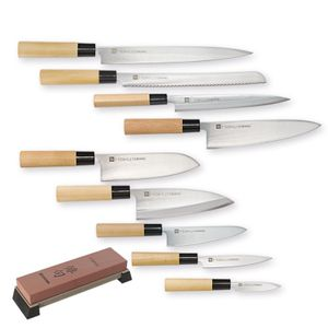 Chroma Messer Set 10-teilig Haiku Original H-id827