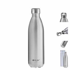 FLSK Trinkflasche - Isolierflasche 1000ml Stainless – Bild 1