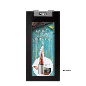 Chilimühle AdHoc Geschenkset PEPE + Bird´s Eye Chilis + SCHARFsinnig Steakmesser – Bild 3
